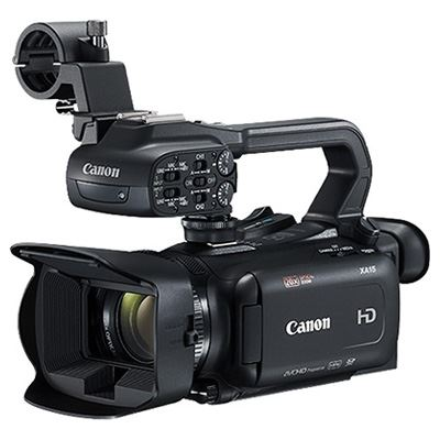 Canon XA15 Professional Camcorder - Power Kit