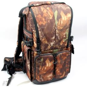 Used Benro Falcon 800 Series Camouflaged Backpack