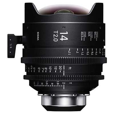 Sigma Cine 14mm T2 FF Lens- PL Mount