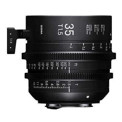 Sigma Cine 35mm T1.5 FF Lens Fully Luminous - PL Mount