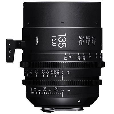 Sigma Cine 135mm T2 FF Lens - Sony Mount