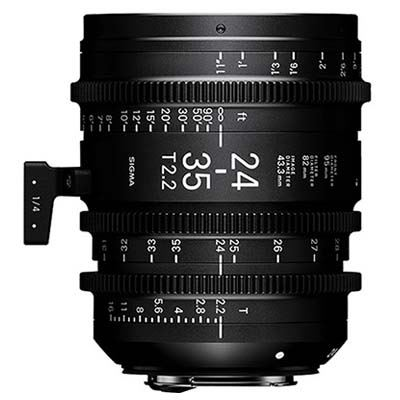 Image of Sigma Cine 24-35mm T2.2 FF Zoom Lens - Canon Mount
