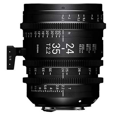 Image of Sigma Cine 24-35mm T2.2 FF Zoom Lens Fully Luminous - Canon Mount