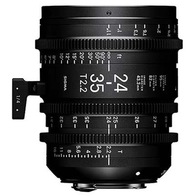 Image of Sigma Cine 24-35mm T2.2 FF Zoom Lens Fully Luminous - Sony Mount