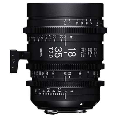 Sigma Cine 18-35mm T2 Zoom Lens - Canon Mount