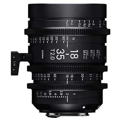 Image of Sigma Cine 18-35mm T2 Zoom Lens - Sony Mount