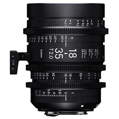 Image of Sigma Cine 18-35mm T2 Zoom Lens - PL Mount