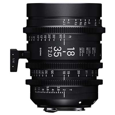 Image of Sigma Cine 18-35mm T2 Zoom Lens Fully Luminous - Canon Mount
