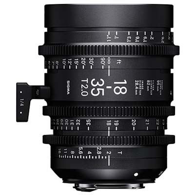 Image of Sigma Cine 18-35mm T2 Zoom Lens Fully Luminous - Sony Mount