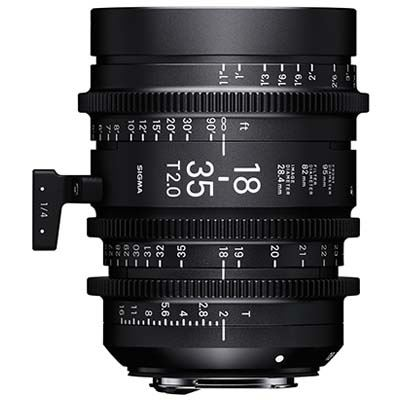 Image of Sigma Cine 18-35mm T2 Zoom Lens Fully Luminous - PL Mount