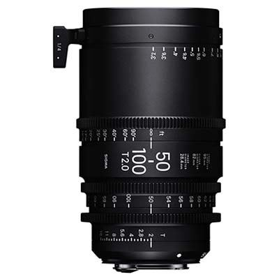 Image of Sigma Cine 50-100mm T2 Zoom Lens - Canon Mount