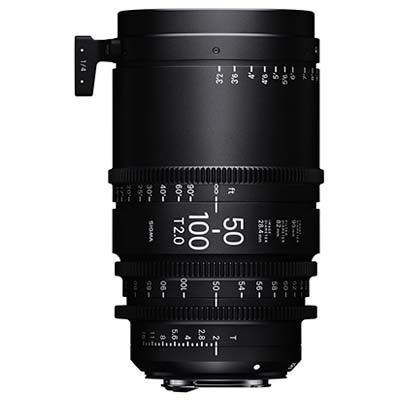 Image of Sigma Cine 50-100mm T2 Zoom Lens Fully Luminous - Canon Mount