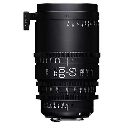 Image of Sigma Cine 50-100mm T2 Zoom Lens Fully Luminous - Sony Mount