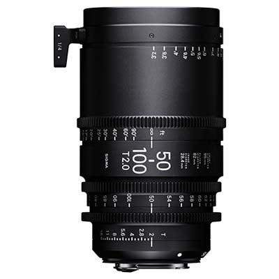 Image of Sigma Cine 50-100mm T2 Zoom Lens Fully Luminous - PL Mount