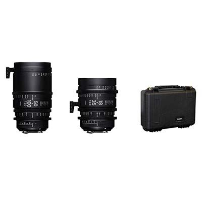Image of Sigma Cine High Speed Zoom Lens Kit - Canon Mount
