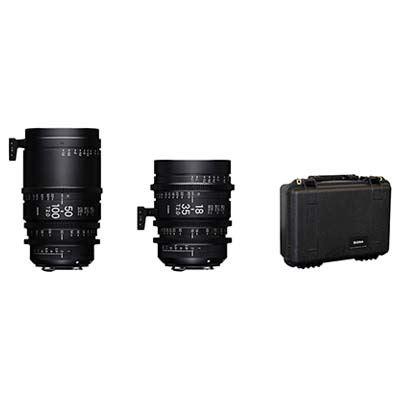 Image of Sigma Cine High Speed Zoom Lens Kit Fully Luminous - Canon Mount
