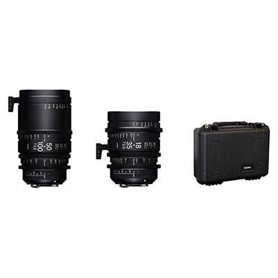 Image of Sigma Cine High Speed Zoom Lens Kit Fully Luminous - PL Mount