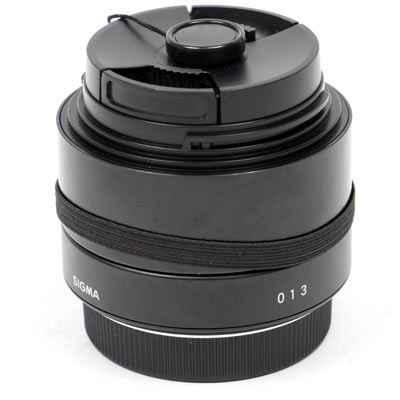 Used Sigma 19mm f2.8 DN Lens - Micro Four Thirds Fit - Black