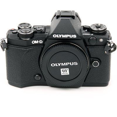 cf8d070d5532 Used Olympus OM-D E-M5 Mark II Digital Camera Body - Black