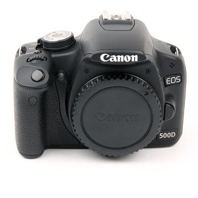 Used Canon EOS 500D Digital SLR Camera Body