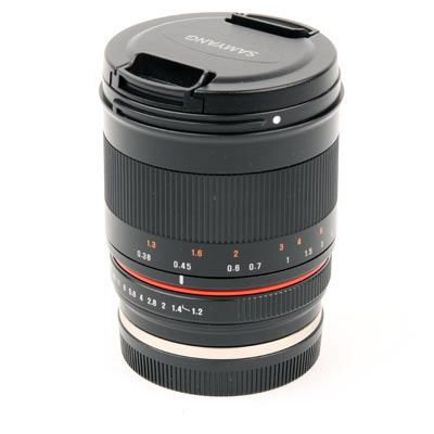 Used Samyang 35mm F1.2 ED AS UMC Lens - Canon M Mount