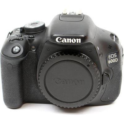 Used Canon EOS 600D Digital SLR Camera Body