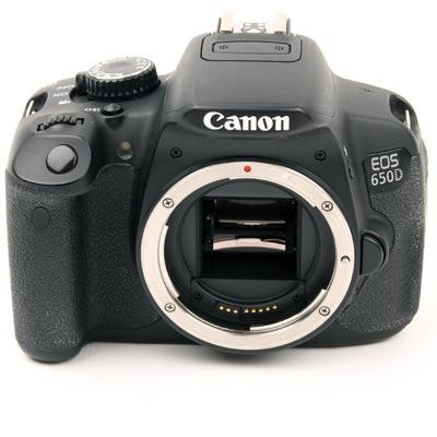 Used Canon EOS 650D Digital SLR Camera Body