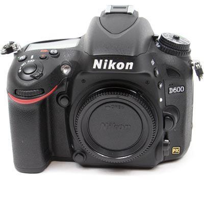 Used Nikon D600 Digital SLR Camera Body