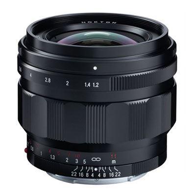 Voigtlander 50mm f1.2 Nokton Aspherical Lens - Sony E Fit