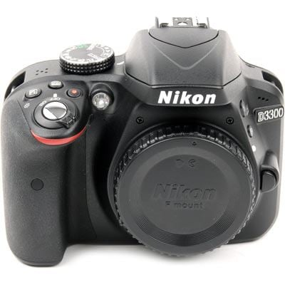 Used Nikon D3300 Digital SLR Camera Body – Black
