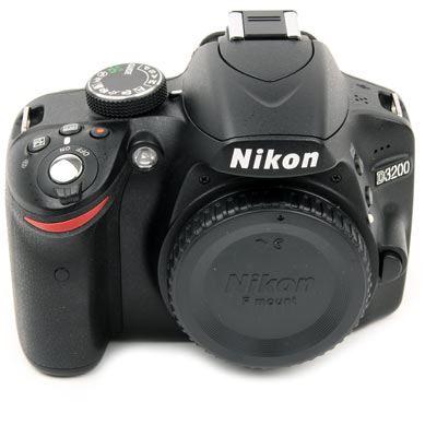 Used Nikon D3200 Digital SLR Camera Body – Black