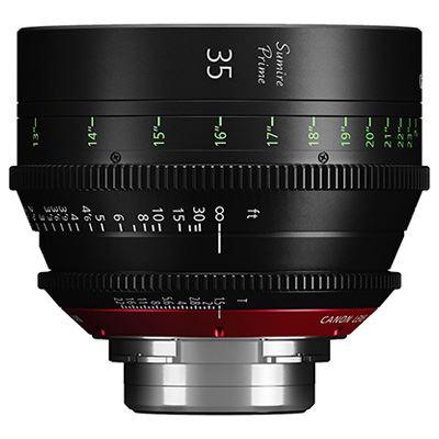 Canon CN-E35mm T1.5 FP X Sumire Prime Lens