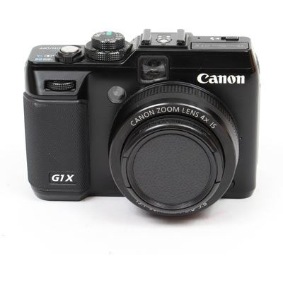 Used Canon PowerShot G1 X Black Digital Camera