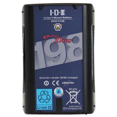 Image of IDX DUO-C198 Endura V-Mount Battery