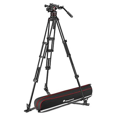 Manfrotto Nitrotech 612 + Aluminium Twin GS