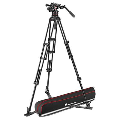 Manfrotto Nitrotech 612 + Aluminium Twin MS