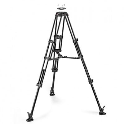 Manfrotto Aluminium Twin GS Tripod 100/75mm