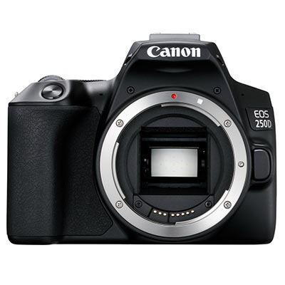 Image of Canon EOS 250D Digital SLR Camera Body - Black
