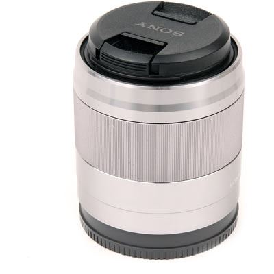 Used Sony E 50mm F1.8 OSS Lens Silver