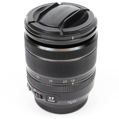 Used Fujifilm 18-55mm f2.8-4 R LM OIS XF Fujinon Black Lens