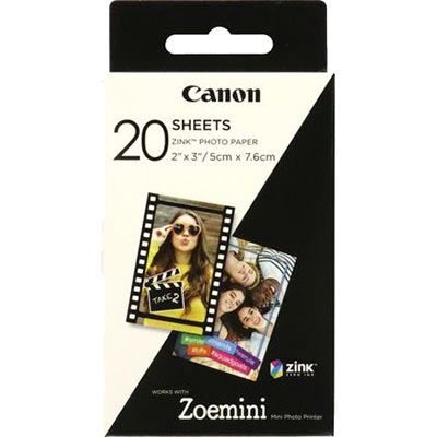 Image of Canon Zink Photo Paper - 20 Shots