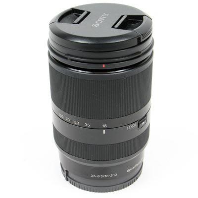 Used Sony E 18-200mm f3.5-6.3 OSS LE Lens