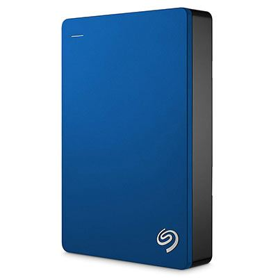 Image of Seagate 4TB Backup Plus Slim portable (Blue)