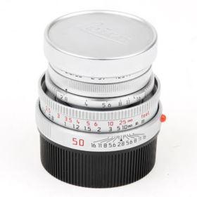 Used Leica Elmar-M 50mm f/2.8 - Silver Lens