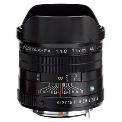Pentax 31mm f1.8 SMC FA AL Lens