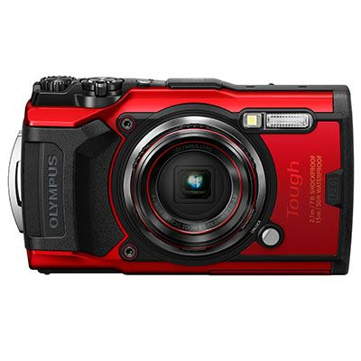 Olympus Tough TG-6 Digital Camera – Red