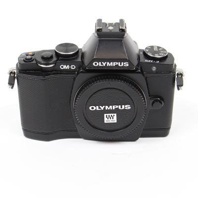 Used Olympus OM-D E-M5 Digital Camera Body - Black