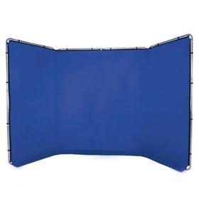 Lastolite Panoramic Background 4m - Chromakey Blue
