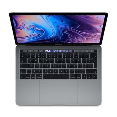 Apple MacBook Pro 13-inch with Touch Bar - 2.4Ghz quad-Core (8thGEN) i5 8GB, 256GB - Space Grey