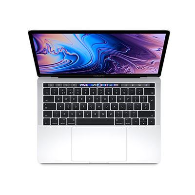 Apple MacBook Pro 13-inch with Touch Bar - 2.4Ghz quad-Core (8thGEN) i5 8GB, 512GB - Silver